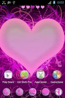 Screenshot of GO Launcher EX Themes Hearts