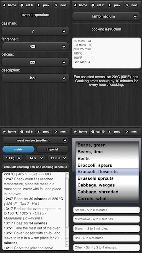 Cooking Calculator - screenshot