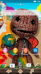 App XPERIA™ LittleBigPlanet Theme APK for Windows Phone