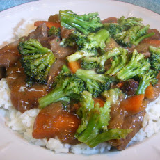 Crock  Pot - Beef Teriyaki With Broccoli