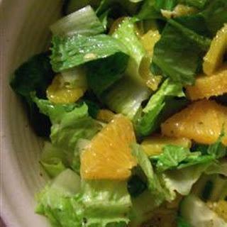 Cos Lettuce Salad Recipes