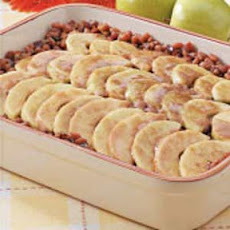 Maple-Apple Baked Beans