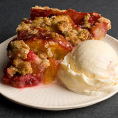 Peach Melba Pie Recipe
