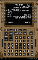 Screenshot of Virtual CDU 777