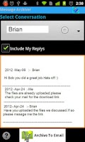 Screenshot of Message Archiver