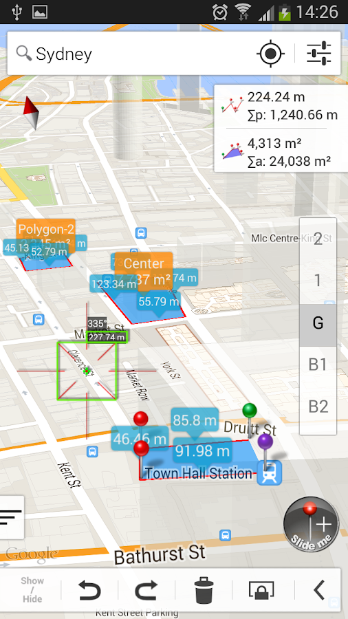 Measure Map Pro Screenshot 1