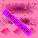 Go Launcher Life Pink icon