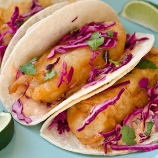 Flour Tortilla Fish Tacos Recipes