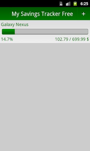 My Savings Tracker FREE