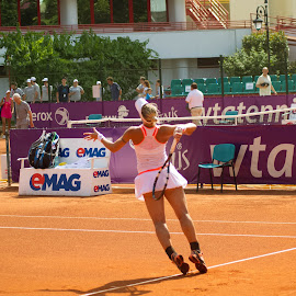 Balance by Cosmin Lita - Sports & Fitness Tennis ( clay, wta, balance, woman, tennis )