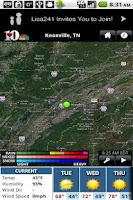 Screenshot of WBIR10 WX