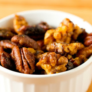 Sweet and Spicy Mixed Nuts