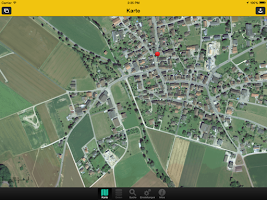 Screenshot of GIS SH mobile