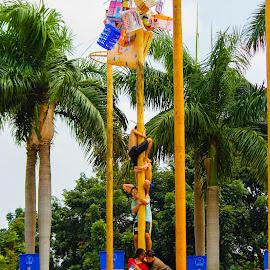 Panjat Pinang by Nizom Ali - News & Events World Events
