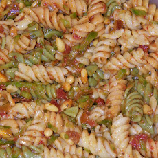 Pesto Pasta Salad With Pine Nuts