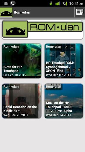 Rom-Ulan Blog Viewer
