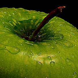 Green apple. by Andrew Piekut - Food & Drink Fruits & Vegetables