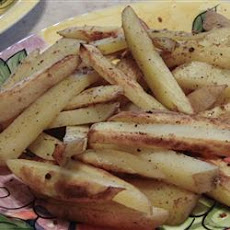 Oven Fried Potatoes II
