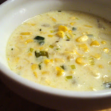Vanilla-Scented Sweet Corn Chowder
