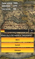 Screenshot of World Capitals Quiz Trivia