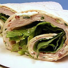 Turkey Wraps with Chipotle Mayonnaise