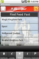 Screenshot of Disney World MouseWait FREE