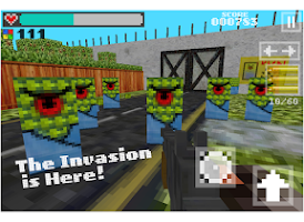Screenshot of Block Gun 3D - Minecraft Style