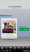 Screenshot of NST Digital