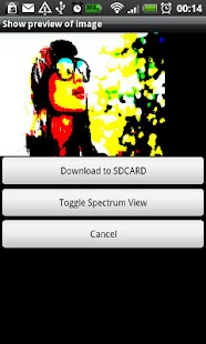 ZX Spectrum Live Wallpaper - screenshot