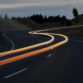 Light Tracks by Winkie Chau - Abstract Light Painting ( abstract, light painting, highway, long exposure, nightscape,  )