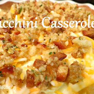 Squash And Zucchini Casserole With Stuffing Recipes