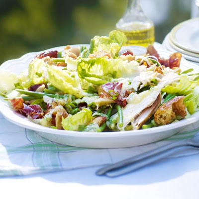 Roast Chicken Garden Salad