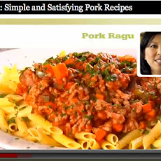 Pork Ragu Recipe