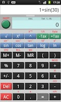 Screenshot of CalcPad Lite Calculator