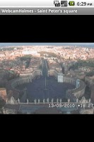Screenshot of Rome Webcams