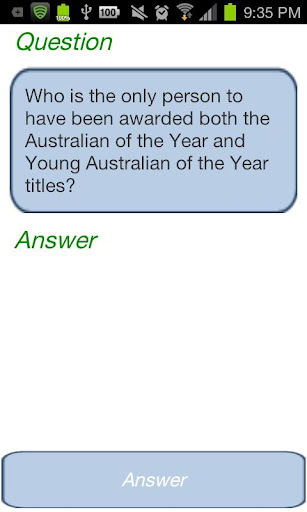Australia Trivia