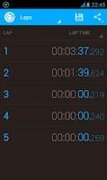 Screenshot of Stopwatch Timer