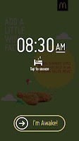 Screenshot of McDonald's® Surprise Alarm