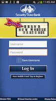 Screenshot of Security State Bank