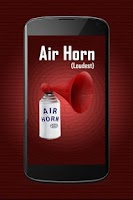 Screenshot of Air Horn Loud