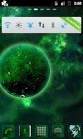 Screenshot of GO Launcher EX Planets Theme