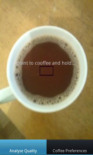 Live Coffee Analyser