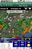Screenshot of WUSA Radar