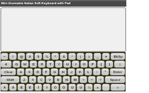【免費工具App】Mini Italian Keyboard & Pad-APP點子