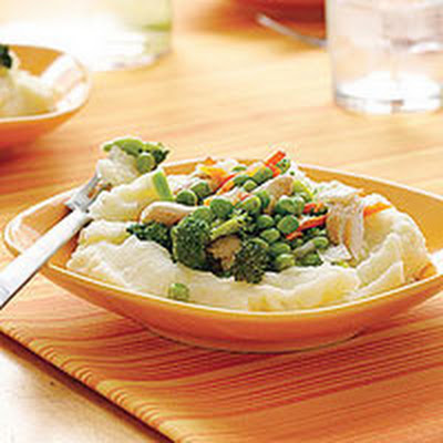 Chicken Potpie Bowls