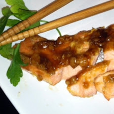 Asian Seasoned Salmon Fillets