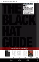 Screenshot of The Black Hat Guide