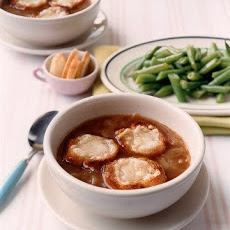 French Onion Soup with Cheese Toasts
