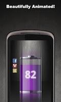 Screenshot of Talking Battery Widget