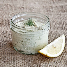 Raw Vegan Dill Cream Cheese